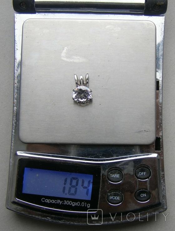 Кулон. Серебро 925 пр. Вес - 1,84 г., фото №2