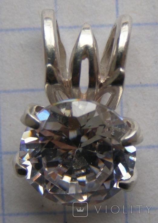 Кулон. Серебро 925 пр. Вес - 1,84 г., фото №6