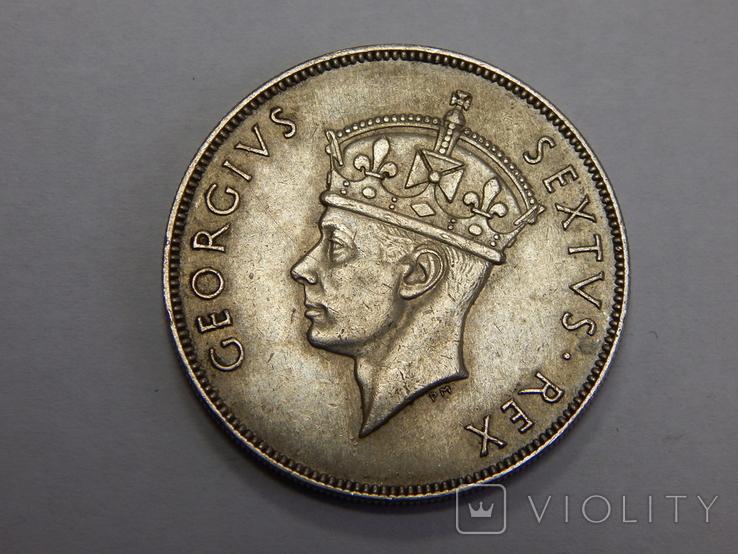 1 шиллинг, 1950 г Британская Африка, фото №3