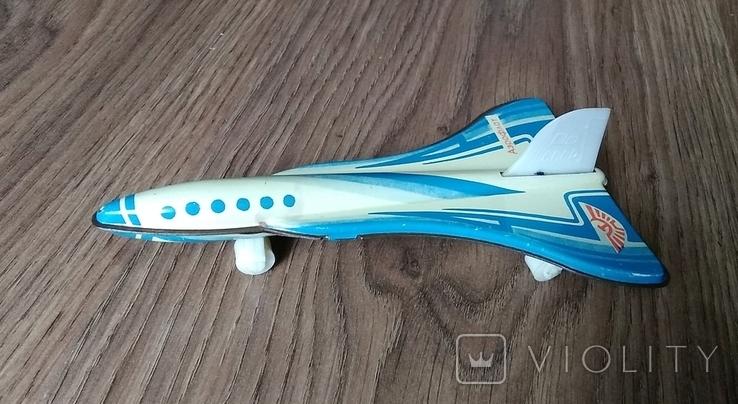 Самолет Аэрофлот СССР, ТУ-144, борт 98301, металл, фото №2
