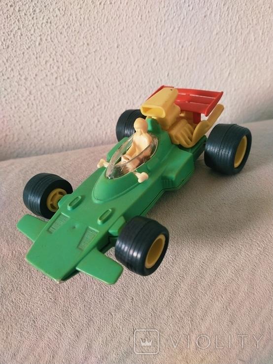 Гоночная машина СССР пластик, фото №2