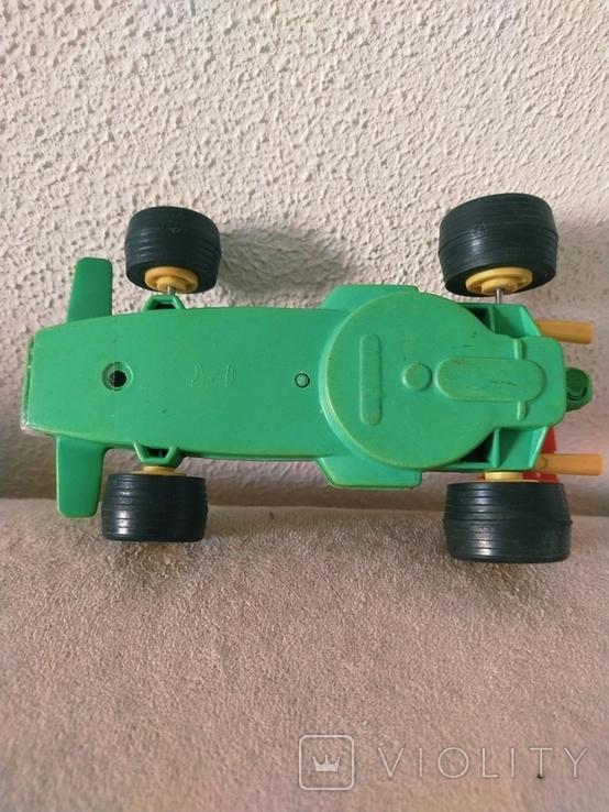 Гоночная машина СССР пластик, фото №3