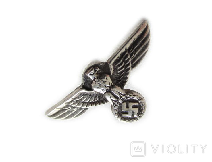 III REICH имперский орел, птица, курица, рукоятки кинжала SS, SA, СА, СС серебро. Копия., фото №9
