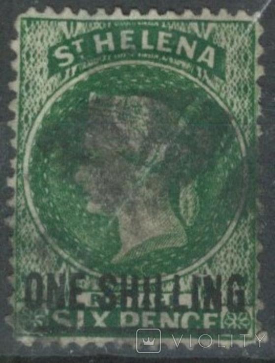 Бж12 Британские колонии. Святой Елены о. 1894 №20 (35 евро)