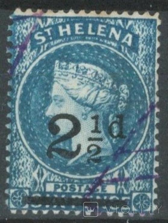 Бж12в Британские колонии. Святой Елены о. 1893 №16 (8 евро)
