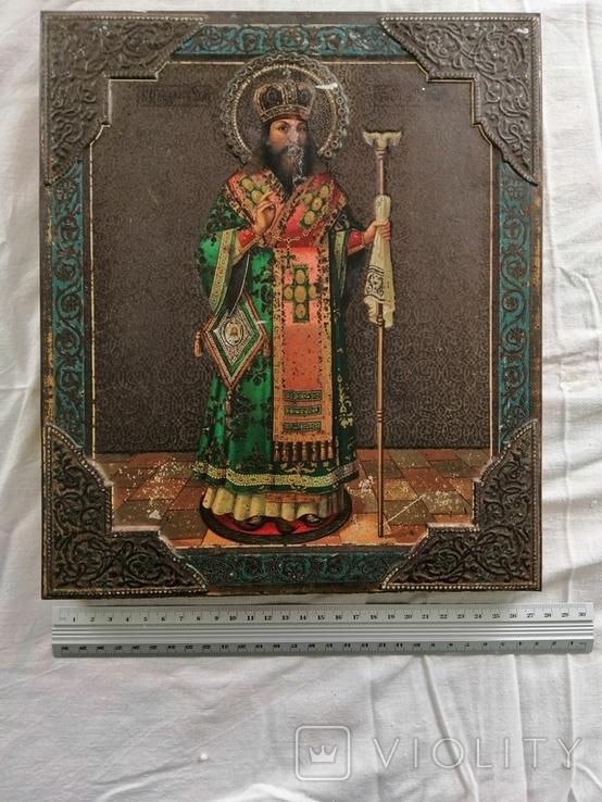 Икона Жако. Феодосий Углицкий. Перевыставление., фото №2
