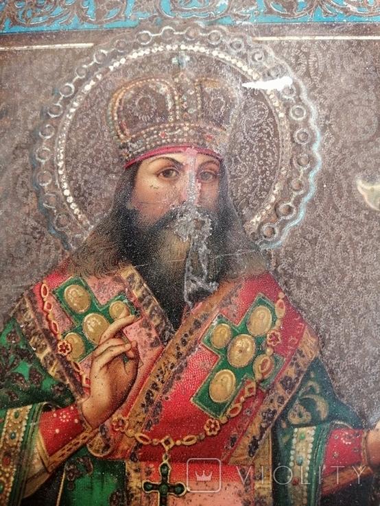 Икона Жако. Феодосий Углицкий. Перевыставление., фото №6