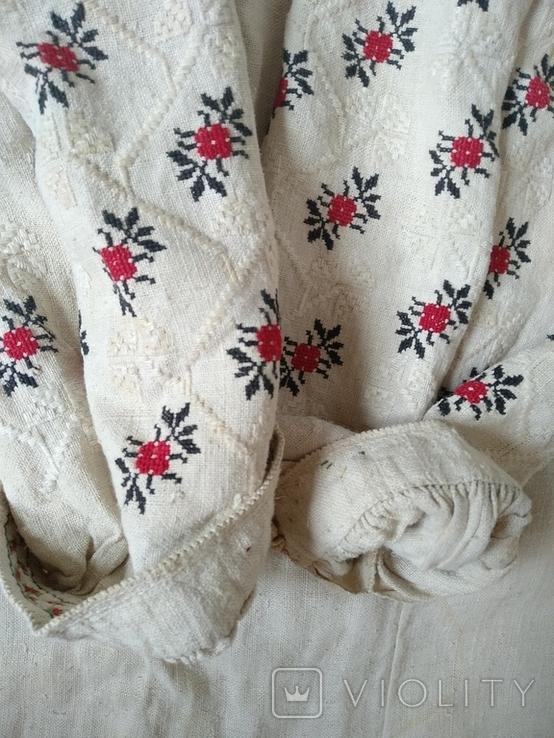 Сорочка довоєнна конопляна., фото №3