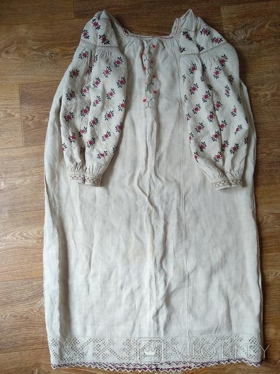 Сорочка довоєнна конопляна., фото №2