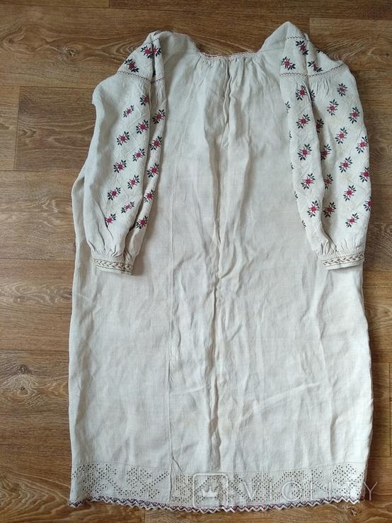 Сорочка довоєнна конопляна., фото №11