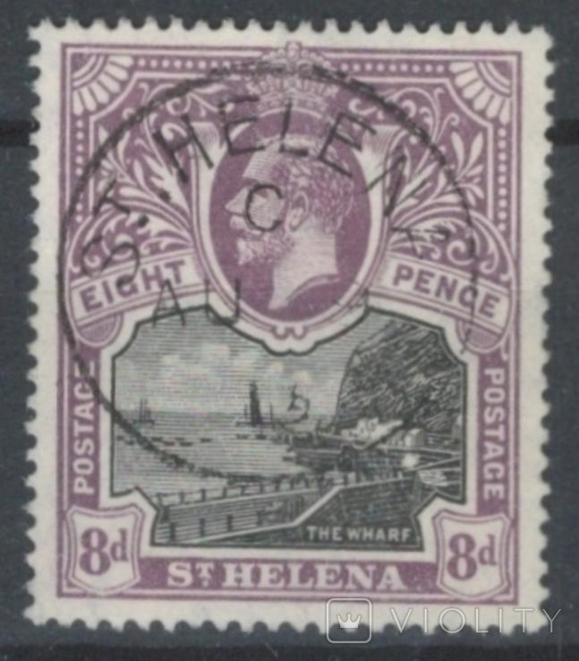 Бж15в Британские колонии. Святой Елены о. 1912 №46 (70 евро)