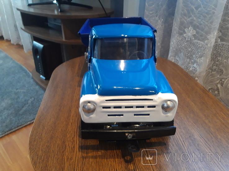 Грузовик Зиз 130 машинка жесть СССР, фото №9
