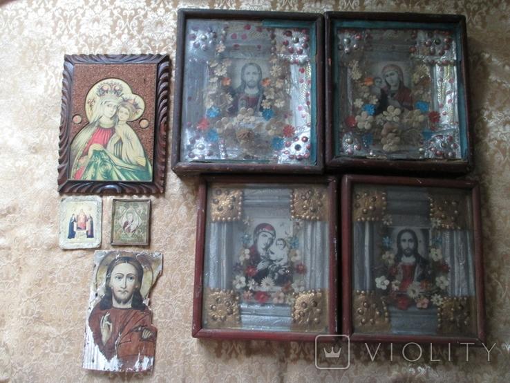 Иконы Венчальная пара и другие., фото №2
