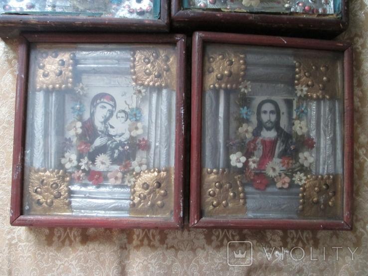 Иконы Венчальная пара и другие., фото №4