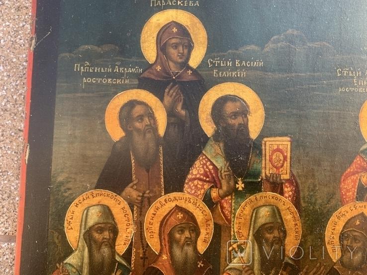 Икона 1785г, фото №5