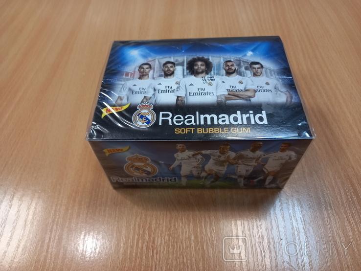 Блок жевательной резинки Realmadrid