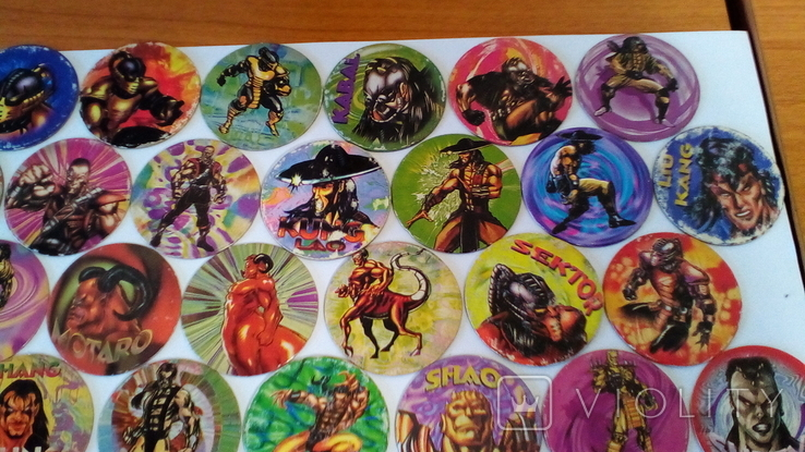 Фишки кэпсы Mortal Kombat. Комплект. +1 битка (бонус)., фото №4