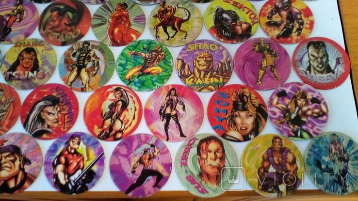 Фишки кэпсы Mortal Kombat. Комплект. +1 битка (бонус)., фото №6