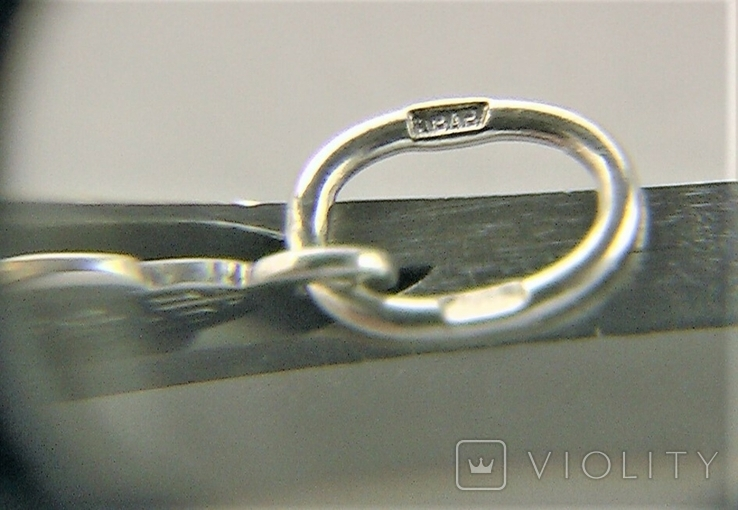 Крестик серебро 925 проба 1,57 грамма, фото №8