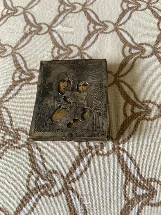 Иконка Матерь Божья с сыном, фото №3