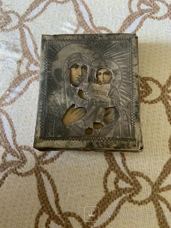 Иконка Матерь Божья с сыном, фото №5