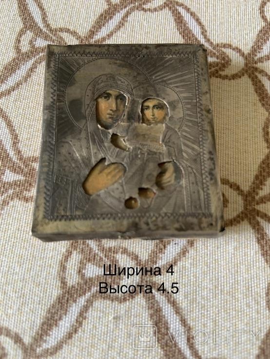 Иконка Матерь Божья с сыном, фото №2