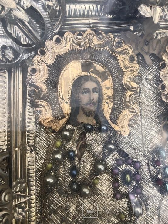 Икона в шитом окладе, фото №4