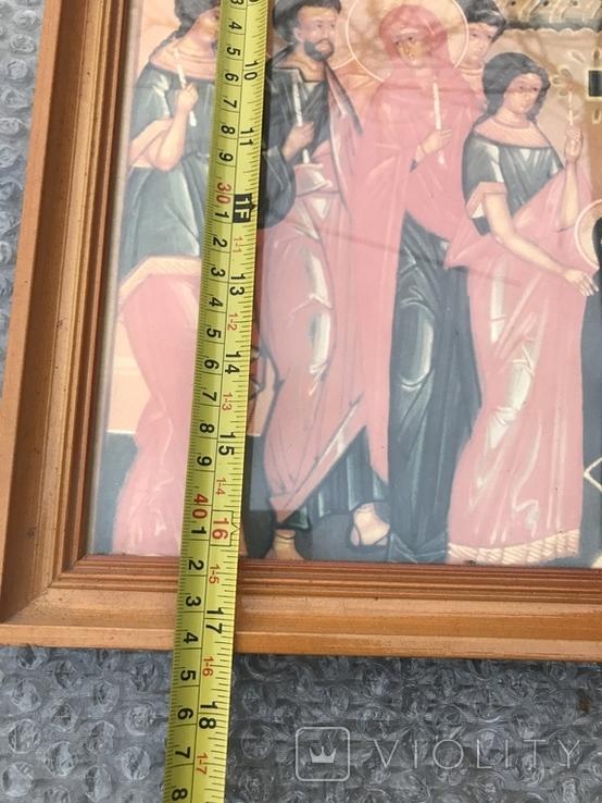 Икона 44х31 см, фото №6