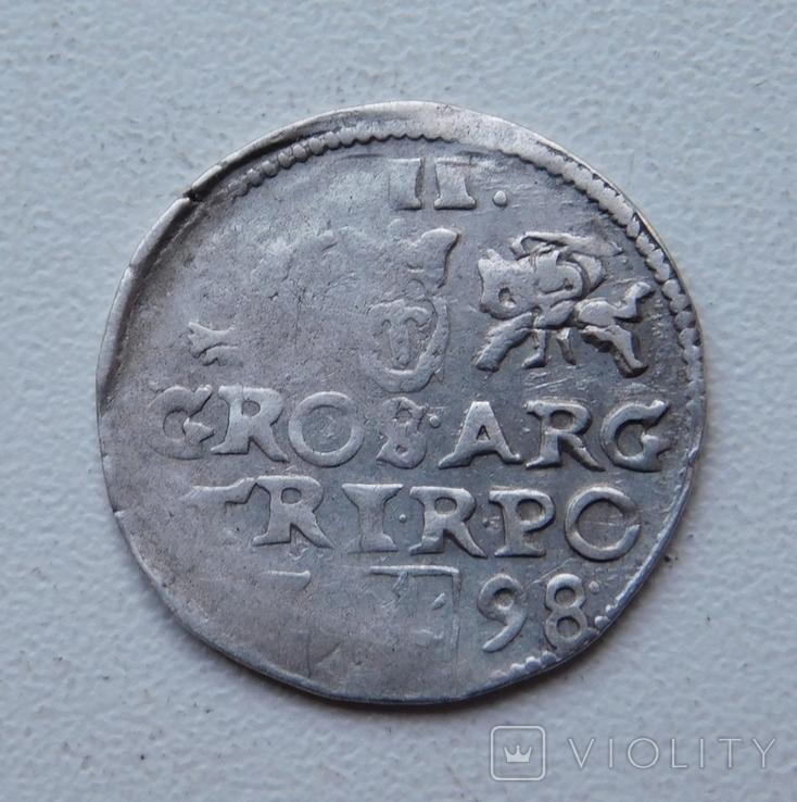 Трояк 1598, фото №4
