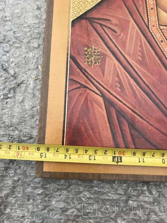 Икона бумага на дереве 50х39 см, фото №7