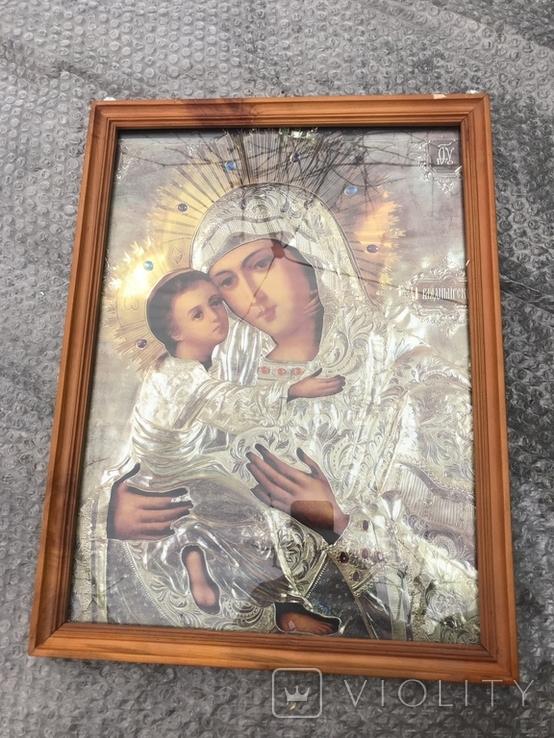 Икона Богородица 49х37 см, фото №2