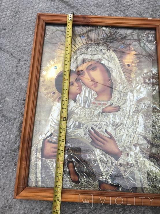 Икона Богородица 49х37 см, фото №5