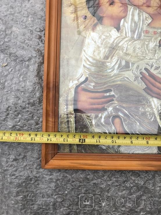 Икона Богородица 49х37 см, фото №6