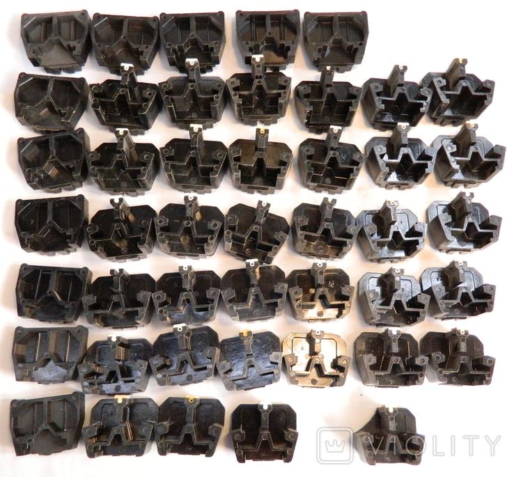 Изоляторы наборных зажимов ЗН24-16У3 и КТ6У СССР 45шт, фото №7
