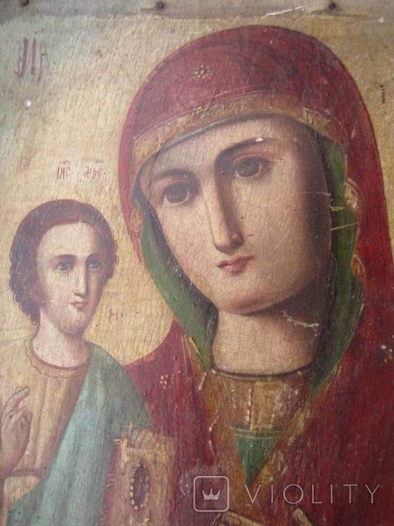Икона Образ Пр. Богородицы. Праворучицы 31 Х 23.5, фото №6