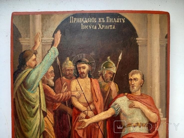 Приведение к Пилату Иисуса Христа, фото №4