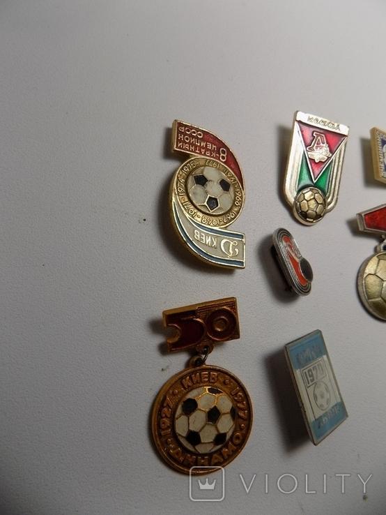 7 значков ссср.тематика футбол., фото №3