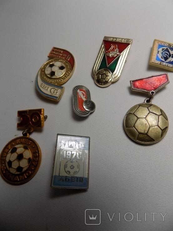 7 значков ссср.тематика футбол., фото №4
