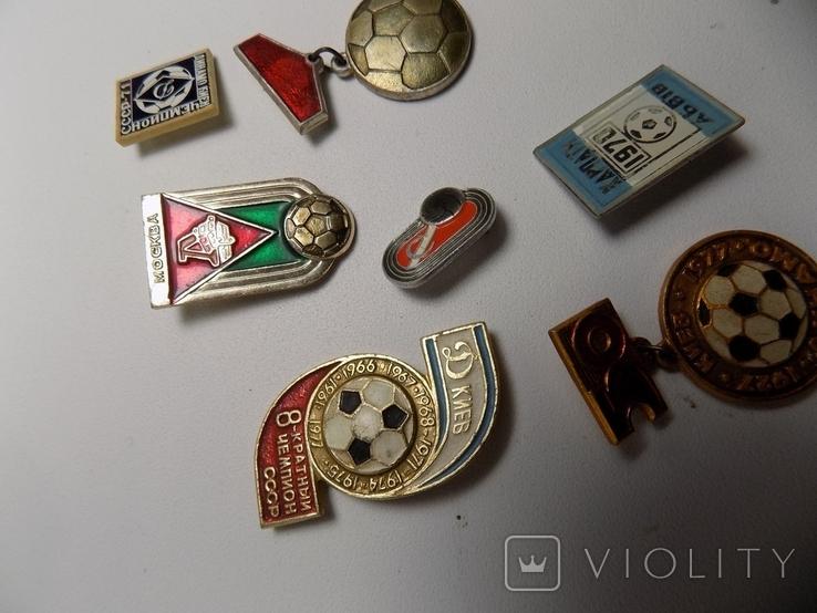 7 значков ссср.тематика футбол., фото №7