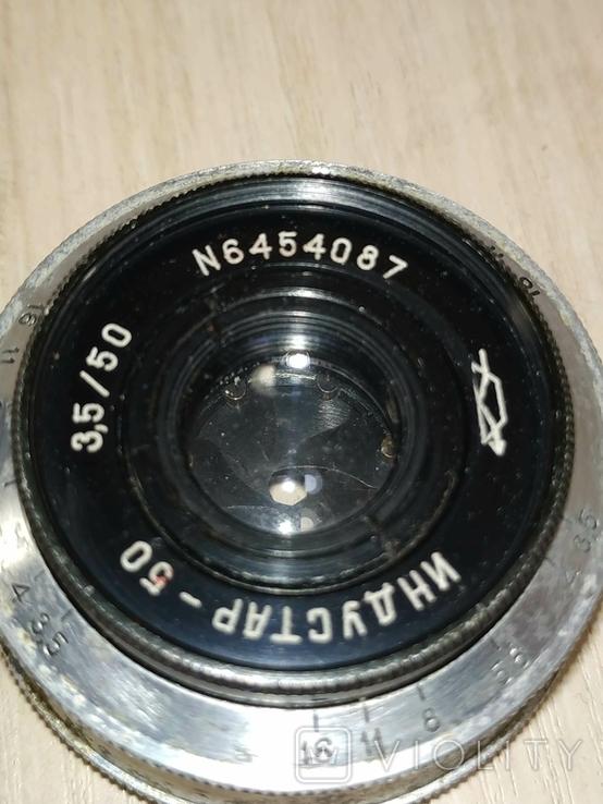 Объектив Индустар-50,М 39., фото №4
