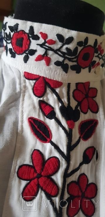 Сорочка вишита Полісся, фото №8