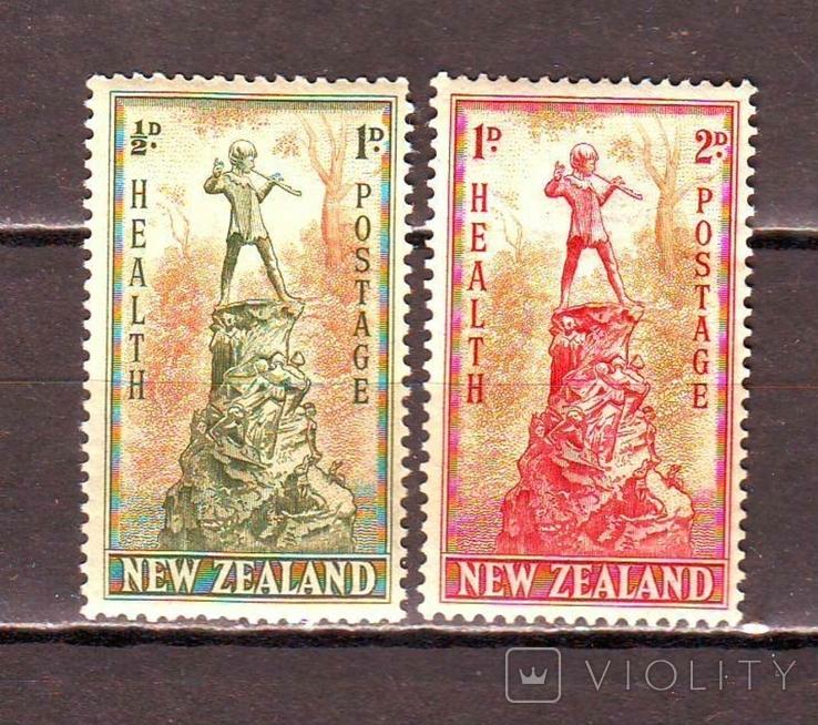 Новая Зеландия*. 1945г. Марки здоровья