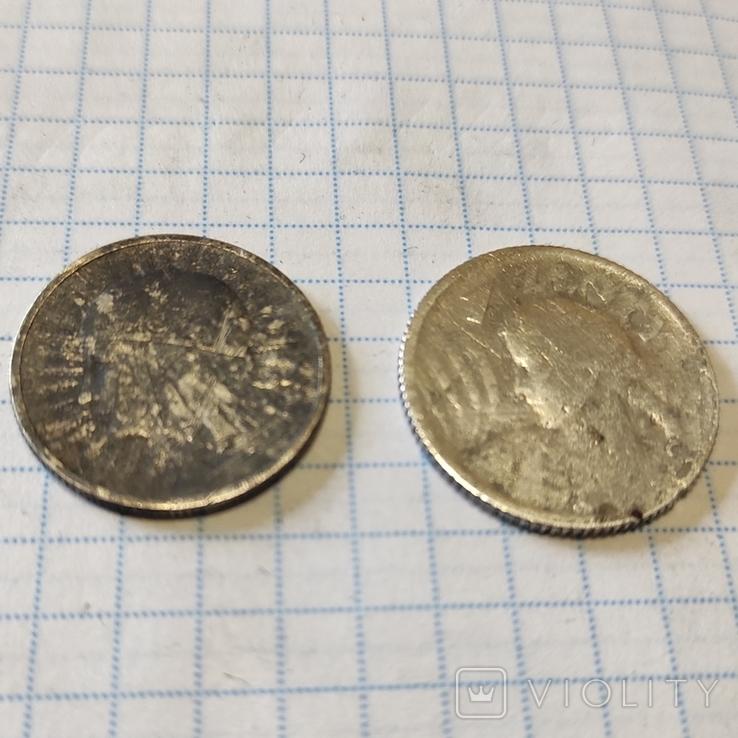 1 злотий 1924 Ядвіга + 2 злотих, фото №7