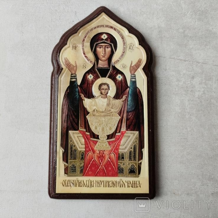 Икона Богородицы Неупиваемая чаша, фото №7