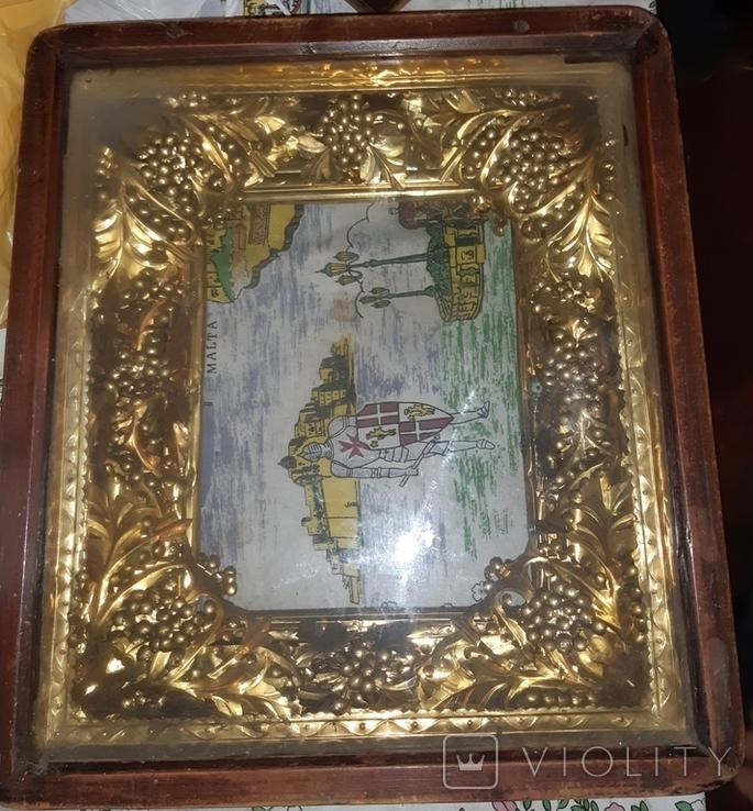 Икона 18-19 век Николай Чудотворец, фото №5