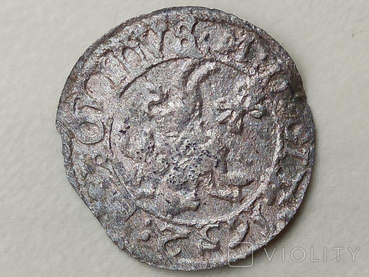Грош 1652 года, фото №6