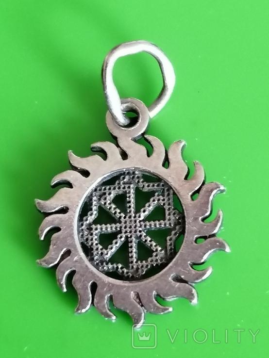 Кулон серебро 925 оберег, фото №2