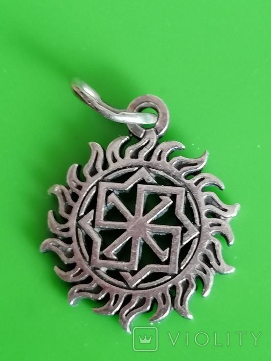 Кулон серебро 925 оберег, фото №3