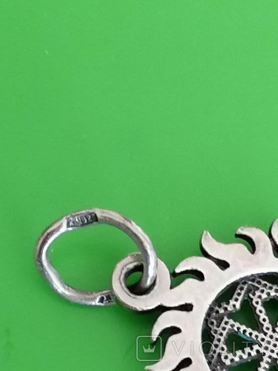 Кулон серебро 925 оберег, фото №4