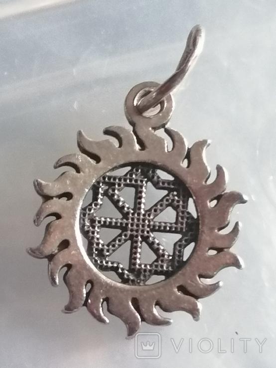 Кулон серебро 925 оберег, фото №6
